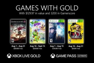 Xbox金会员8月会免游戏公布暗黑血统3在内